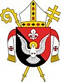 Coat of arms of Archdiocese of Madang.jpg