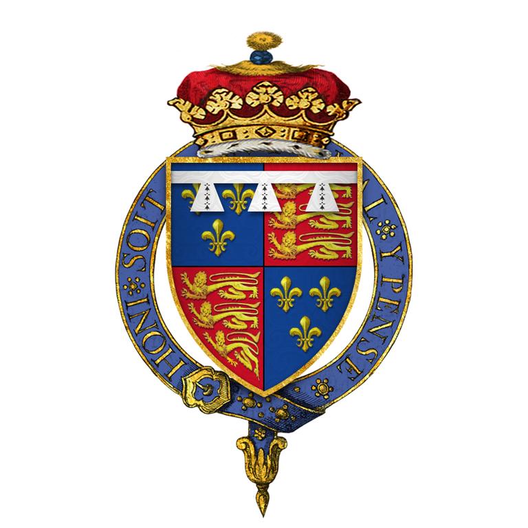 File Coat Of Arms Of Henry Tudor  Duke Of York  Kg  Later King Henry Viii  Png
