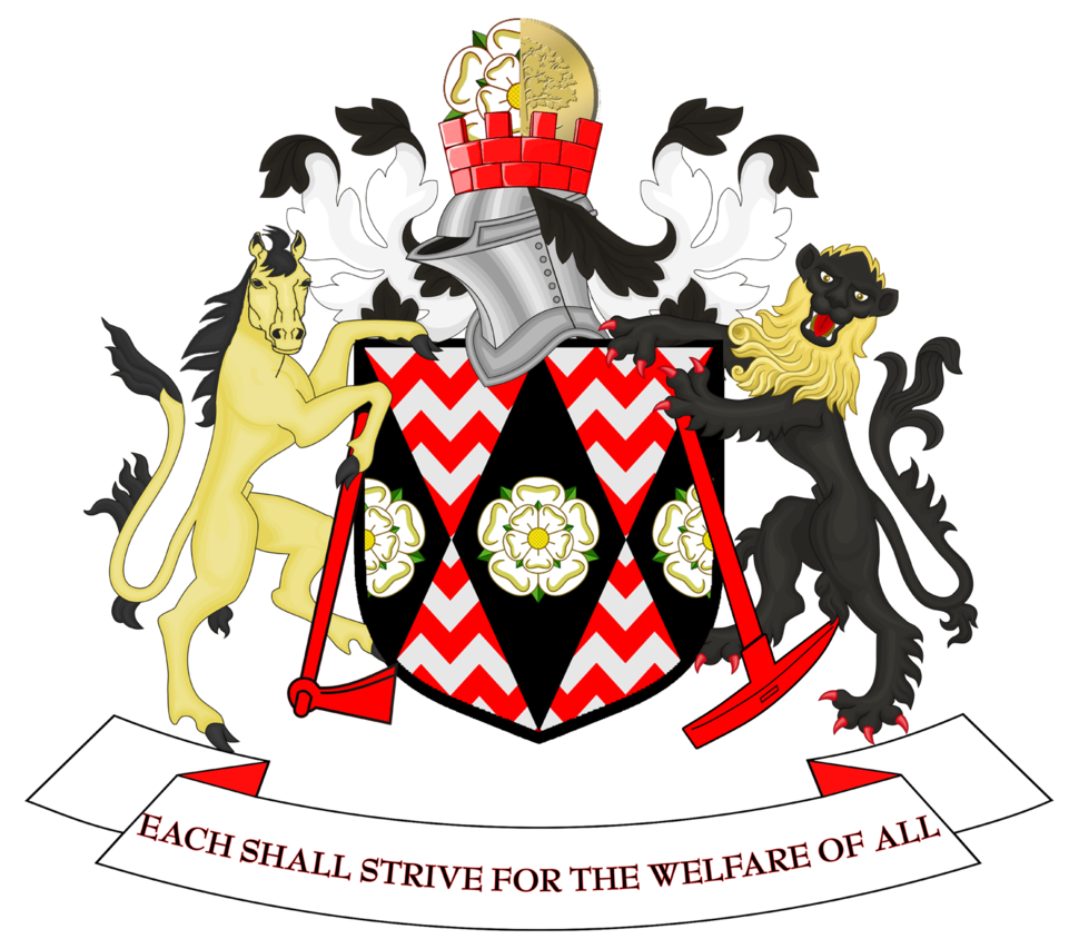 Coat of arms of South Yorkshire County Council