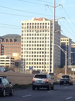 Coca-Cola bottling plant in Farmers Branch