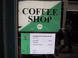 City license for a cannabis coffee shop in Ams...