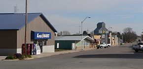 Coleridge, Nebraska Broadway from Elm 2.JPG