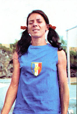 Colette Besson in Mexico, 1968