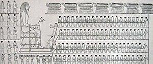 Djehutihotep - Image: Colosse djéhoutihétep 2