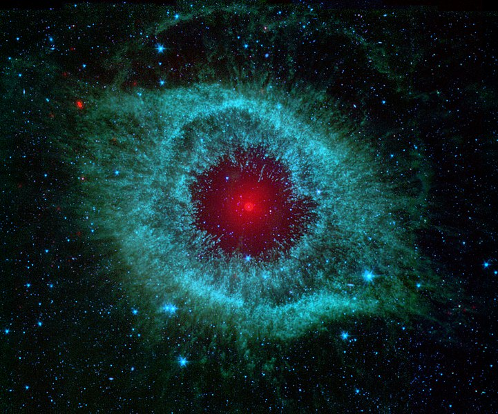Fail:Comets Kick up Dust in Helix Nebula (PIA09178).jpg