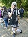Comic World Seoul cosplayer of Nyaruko from Nyaruko-Crawling-with-Love 20141018.jpg