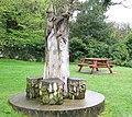 Commemorative sculpture, Garries Park - geograph.org.uk - 1373394.jpg