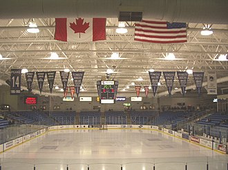 Plymouth Whalers - Interior of Compuware Arena