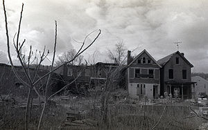 Braddock, Pennsylvania - Condemned houses in Braddock, 2009