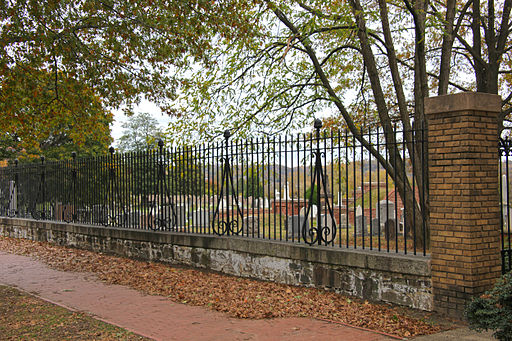 Congressional Cemetery fence - Washington DC - 2012