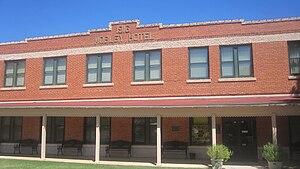 Cisco, Texas - Image: Conrad Hilton's Mobley Hotel, Cisco, TX IMG 6403