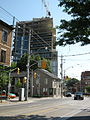 Construction at NW corner of King and Parliament, 2012 06 29 -a.jpg