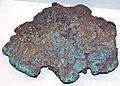 Copper glacial boulder (Mesoproterozoic, 1.05-1.06 Ga; Pleistocene glacial deposit at Oglesby, Illinois, USA) 2 (17116478527).jpg