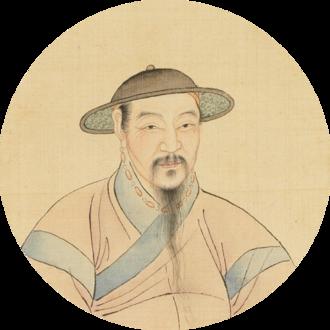 Zhao Mengfu - Portrait of Zhao Mengfu