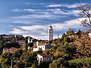 Corbara, Haute-Corse - The Pietralta neighbourhood, in Corbara