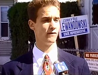 Corey Lewandowski - Lewandowski during his 1994 campaign