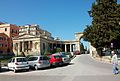 Cos lateral del palau de sant Miquel i sant Jordi, Corfú.JPG