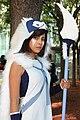 Cosplay of San (Princess Mononoke), Fanime 2015 (18120229036).jpg