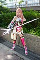 Cosplayer of Final Fantasy XIII-2 Serah Farron 20140727.jpg