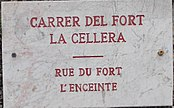 Carrer del Fort. La cellera