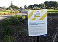Covid-19 'Alert Level 3' playground closure notice, Paraparaumu.jpg