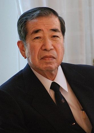 Tadamitsu Kishimoto - Image: Crafoordpriset 2009 press conference 07