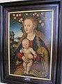 Cranach il vecchio, madonna col bambino sotto un melo.JPG