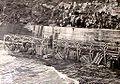 Creciente del 59 en Rincón del Bonete 1959 Transformadores de servicio arrasados por el agua.jpg