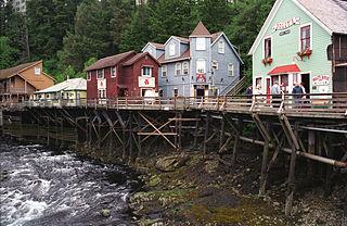 Creek Street (Ketchikan, Alaska) United States historic place