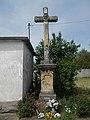 Cricifix (1898). New Cemetery, 2018 Paks.jpg