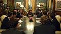 Cristina Fernández reunida con banqueros por canje de deuda.jpg