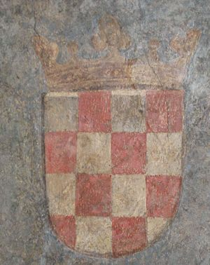 Croatian nationalism - An early version of the Croatian ''šahovnica'' as the coat of arms of the Kingdom of Croatia in 1495.