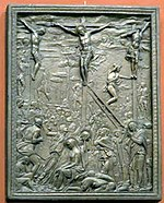 Crucifixion 01 - casting in Pushkin museum 01 by shakko.jpg