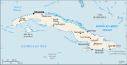 Cuba - Mappa