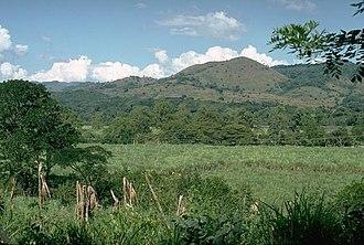 Cuilapa-Barbarena - Image: Cuilapa Barbarena volcanic field