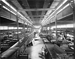Curtiss Aeroplane and Motor Company assembly floor, circa 1917-1919 (TRANSPORT 1152).jpg