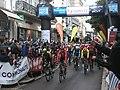 Cyclistes au départ de l'étape 4 du Paris-Nice 2019 (Vichy) 2019-03-13.JPG