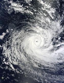 Cyclone Anais le 14 octobre.
