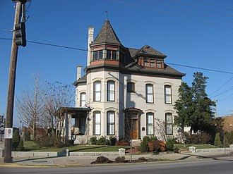 National Register of Historic Places listings in Daviess County, Kentucky - Image: D.D. Bogard House