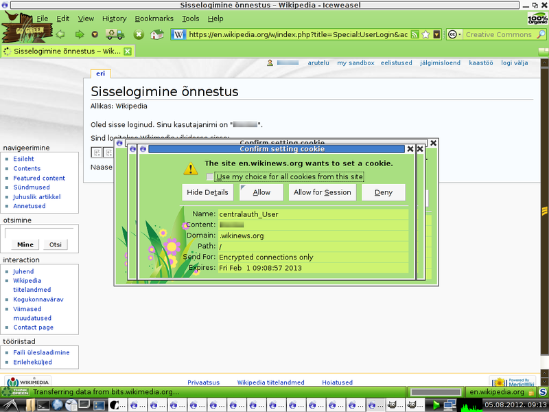 Fail:D.Iceweasel3.0.6-Multiple cookies--Go Green theme-Knoppix6.0.1.png
