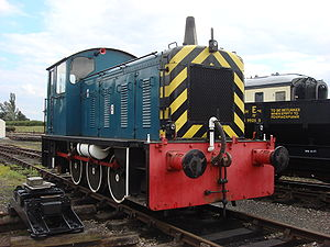 British Rail Class 04 - Image: D2298 at the Buckinghamshire Railway Centre 1