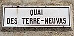 Dahouët (Côtes d'Armor) quai des Terre-Nuevas