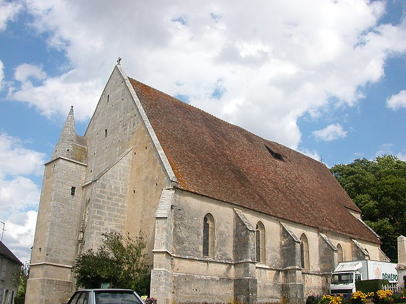Church of Dampierre-sous-Bouhy
