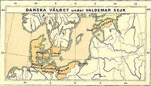 Valdemar II of Denmark - Danish realm under King Valdemar II