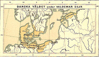 Valdemar II of Denmark - Danish realm under King Valdemar II