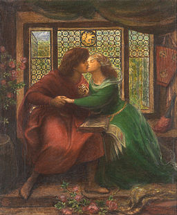 Dante Gabriel Rossetti - Paolo and Francesca da Rimini - Google Art Project