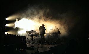 Darkside (band) - Darkside performing in Singapore in April 2014