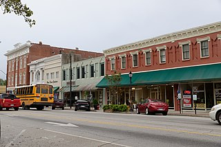 Darlington Downtown Historic District United States historic place