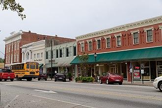 Darlington Downtown Historic District - Image: Darlington Downtown Historic District, darlington, SC, US (02)