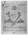 Dartmouth College Social Friends Library bookplate.png